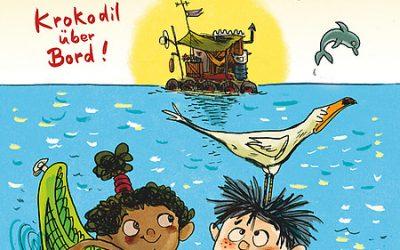 Juli & August, Krokodil über Bord