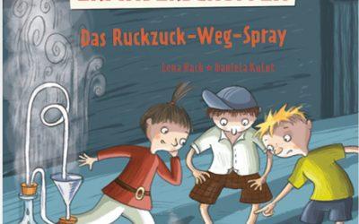 Der verrückte Erfinderschuppen – Das Ruckzuck-Weg-Spray